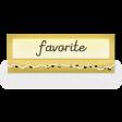 Clear Tabs Kit: Clear Tab - favorite