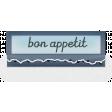 Clear Tabs Kit: Clear Tab - bon appetit