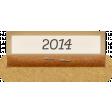 Clear Calendar Tabs Kit - clear tab 2014