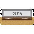 Clear Calendar Tabs Kit - clear tab 2015