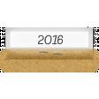 Clear Calendar Tabs Kit - clear tab 2016