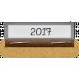 Clear Calendar Tabs Kit - clear tab 2017