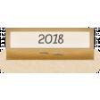Clear Calendar Tabs Kit - clear tab 2018