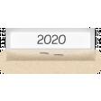 Clear Calendar Tabs Kit - clear tab 2020