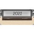 Clear Calendar Tabs Kit - clear tab 2021