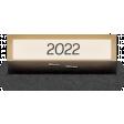 Clear Calendar Tabs Kit - clear tab 2022