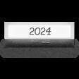 Clear Calendar Tabs Kit - clear tab 2024