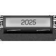 Clear Calendar Tabs Kit - clear tab 2025