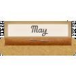 Clear Calendar Tabs Kit - clear tab may