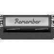 Clear Calendar Tabs Kit - clear tab remember