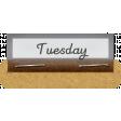 Clear Calendar Tabs Kit - clear tab tuesday