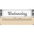 Clear Calendar Tabs Kit - clear tab wednesday