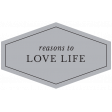 The Good Life - January 2020 Lables & Words - Label Reasons To Love Life