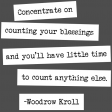 The Good Life - January 2020 Lables & Words - Word Strip Counting My Blessings