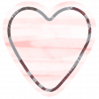 The Good Life - January 2020 Tags & Stickers - Heart 3