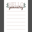 The Good Life - January 2020 Pocket Cards - JC 03 3x4
