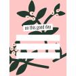 The Good Life - January 2020 Pocket Cards - Journal Me 10 3x4