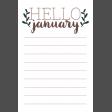 The Good Life - January 2020 Journal Me - JM 03 4x6