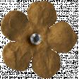 The Good Life: February 2020 Elements Kit - flower tan