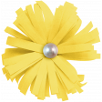 The Good Life: February 2020 Elements Kit - flower yellow