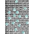 The Good Life: February 2020 Elements Kit - Sequin Scatter blue stars