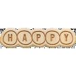 The Good Life: February 2020 Elements Kit - Wood happy