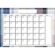 The Good Life: March 2020 Calendars Kit - 3 Calendar 5x7 blank