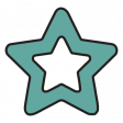 The Good Life - February 2020 Tags & Stickers - Sticker Star Teal