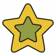 The Good Life - February 2020 Tags & Stickers - Sticker Star Yellow