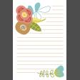 The Good Life - February 2020 Journal Me - Card 03 4x6