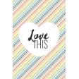 The Good Life - February 2020 Journal Me - Card 08 4x6