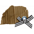 The Good Life: March 2020 Elements Kit - cardboard bow