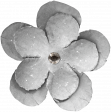The Good Life: March 2020 Elements Kit - flower 3 white