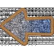 The Good Life: March 2020 Elements Kit - glitter arrow 3