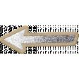 The Good Life: March 2020 Elements Kit - glitter arrow