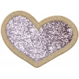 The Good Life: March 2020 Elements Kit - glitter heart