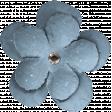 The Good Life: March 2020 Mini Kit - flower 3 blue