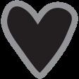 Templates Grab Bag Kit #30 Shapes - heart 1
