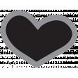 Templates Grab Bag Kit #30 Shapes - heart 2