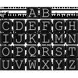 Basic Alphas Kit #1 - Alpha 52 Black