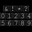 Basic Alphas Kit #1 - Alpha 52 Black Numbers