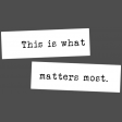 The Good Life - March 2020 Labels & Words - Word Strip This Is Real Life