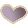 The Good Life - March 2020 Tags & Stickers - Print Heart 1