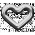 Eyelet Templates Kit - Eyelet heart 1 template