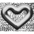 Eyelet Templates Kit - Eyelet heart 3 template