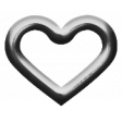 Eyelet Templates Kit - Eyelet heart 4 template