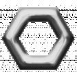 Eyelet Templates Kit - Eyelet hexagon 2 template
