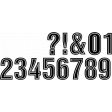 Alpha Template Kit #57 - numbers