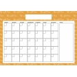 The Good Life - April 2020 Calendars - Calendar 2 A4 Blank