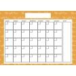 The Good Life - April 2020 Calendars - Calendar 2 5x7 Blank
